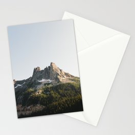 North Cascades Sunset Stationery Cards
