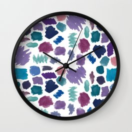 Painted Panache  Wall Clock