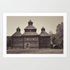 Russian Church Art Print