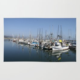 Harbor At Half Moon Bay Rug