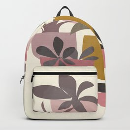 Succulents in Terracotta Backpack