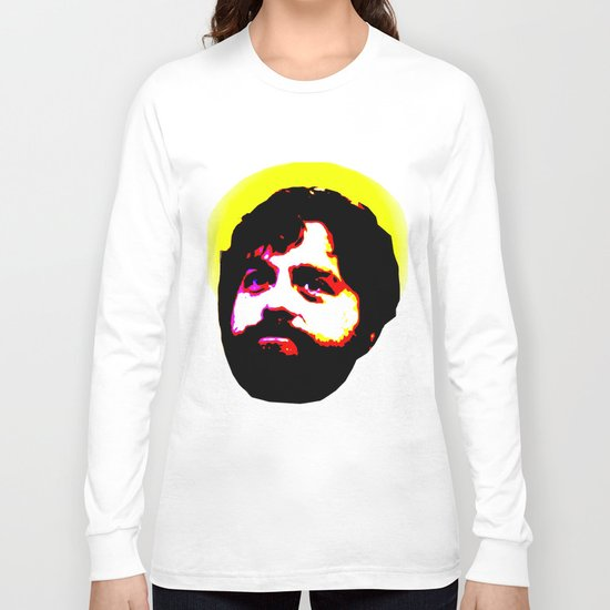 Zach Galifianakis Died for our Sins Long Sleeve T-shirt
