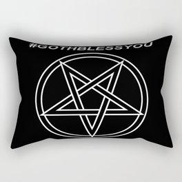 #GOTHBLESSYOU INVERTED Rectangular Pillow