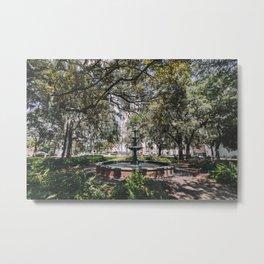 Lafayette Square - Savannah, Georgia Metal Print
