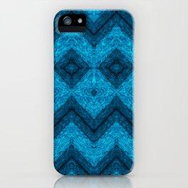 blue mask iPhone Case