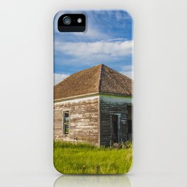 McLean County Homestead 1 iPhone Case