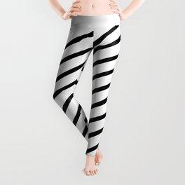 Stripes Diagonal Leggings