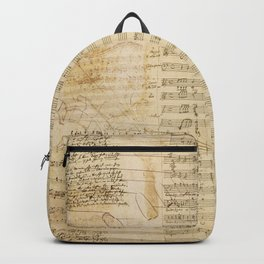 Classical music notations Backpack