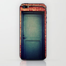 Gray Door iPhone Skin
