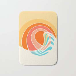 Sun Surf Bath Mat