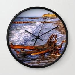At the Baltic Sea, Germany Wall Clock