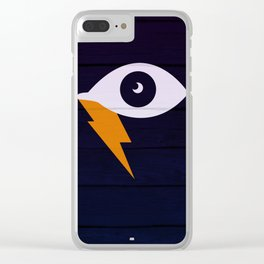 Crying Lightning Clear iPhone Case