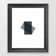 #131 Conversation – Geometry Daily Framed Art Print