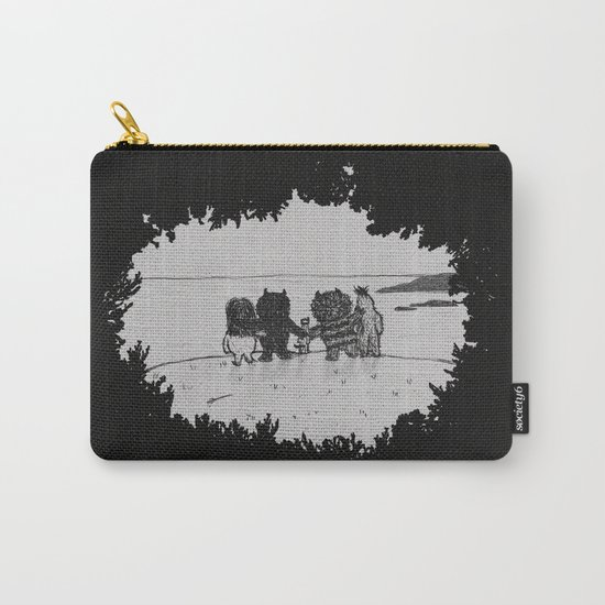 Surrounded By Your Friends Carry-All Pouch