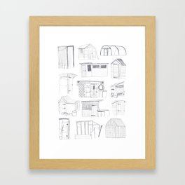 COVER, Contain, Compost - 3 of 3 Framed Art Print