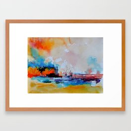 watercolor 4130301 Framed Art Print