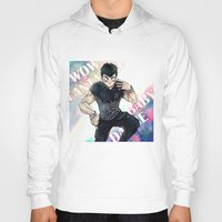 dbz Hoodies featuring + DBZ - Seungri + by MitsuBlinger
