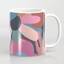 Abstract Floral Coffee Mug
