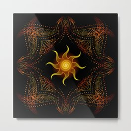 sun energy. part one Metal Print