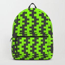 Stripe Dancer Green Backpack