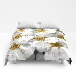 Flowers | Flower | Nadia Bonello | Vintage Inspired White Flowers Comforters