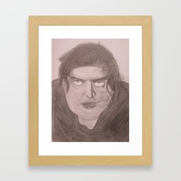 Tommy Wiseau - The Room Boxart Framed Art Print