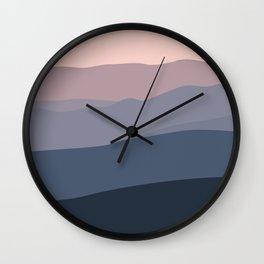 Lilas Wall Clock