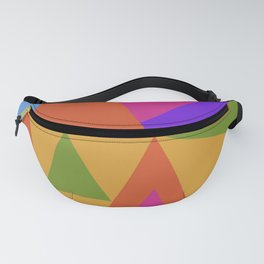 Triangle Rainbow Fanny Pack