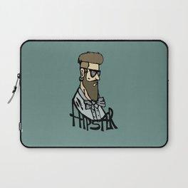 Hipster head Laptop Sleeve