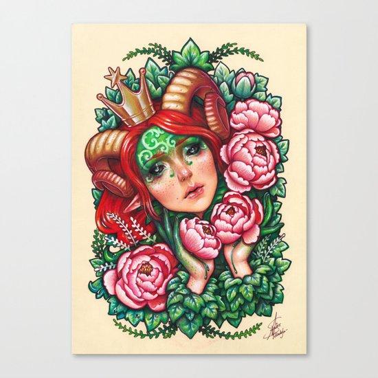 Titania Stigmata Canvas Print