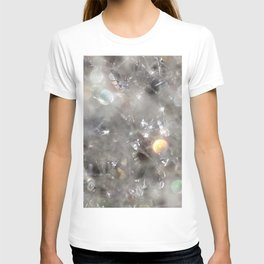 Crystalline connections - Abstract Photography by Fluid Nature T-shirt