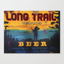 Vermont Brewers Series Long Trail Canvas Print