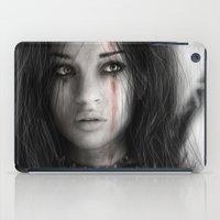 warrior iPad Cases featuring Warrior by Justin Gedak