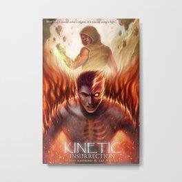 Kinetic: Insurrection Metal Print
