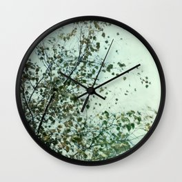 Into the Wind Wall Clock