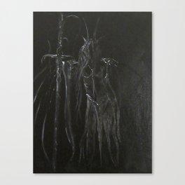 Night's Empress Canvas Print