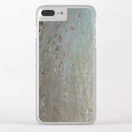 tree bark I. Clear iPhone Case