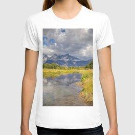 The Grand Tetons Panorama T-shirt