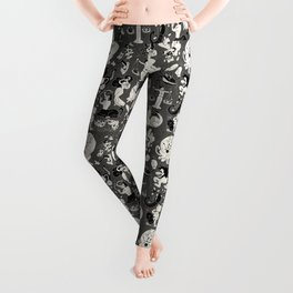 Zodiac Toons Leggings