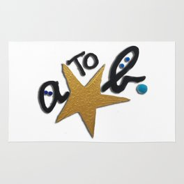 B FOR AGNES B - A STAR TO BE Rug