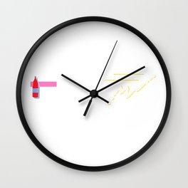 Salsa Picante Wall Clock