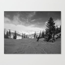 The Approach Canvas Print