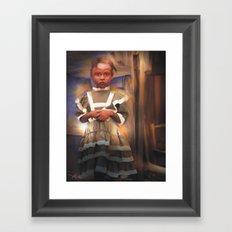 Gentle Dignity / Portrait / Haiti Framed Art Print