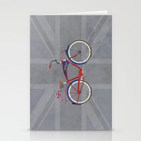 brompton Stationery Cards featuring British Bicycle by Wyatt Design