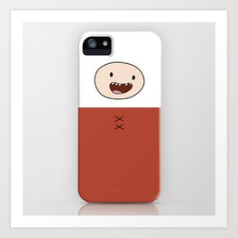 Finn Night Clothes Iphone Case Art Print