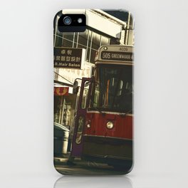 505 Dundas Streetcar China Town iPhone Case