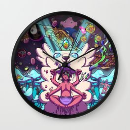 Midnight Gospel Duality Lab Original  Wall Clock