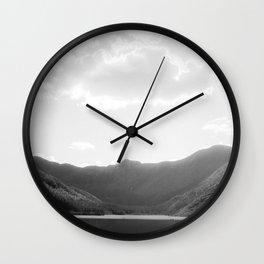 Lac aux Américains Wall Clock
