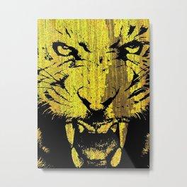 """Tiger"" Metal Print"