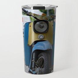 vintage motorbike Travel Mug